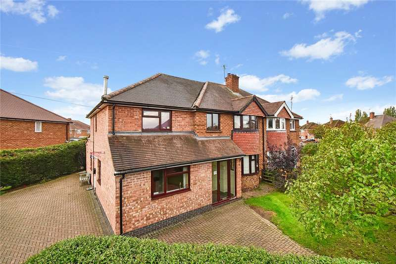 5 Bedrooms Semi Detached House for sale in Blenheim Road, St Johns, Worcester, Worcestershire