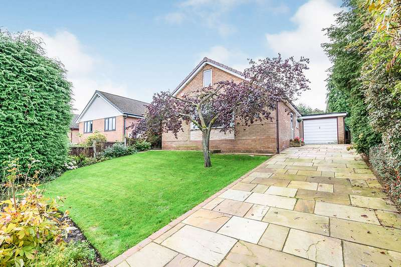 3 Bedrooms Detached Bungalow for sale in Lady Crosse Drive, Whittle-le-Woods, Chorley, Lancashire, PR6