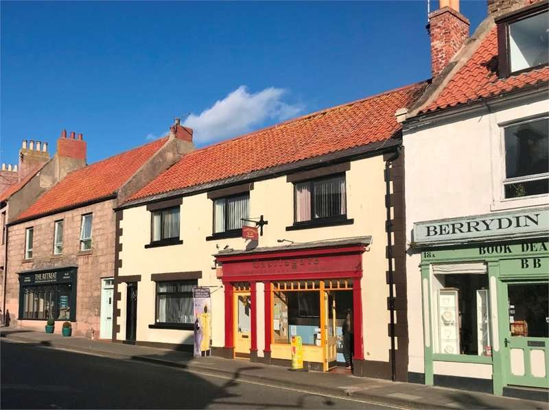 3 Bedrooms Terraced House for sale in Self-contained House, Restaurant and Takeaway, 20-24 Castlegate, Berwick-upon-Tweed, Northumberland