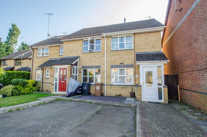 2 Bedrooms End Of Terrace House for sale in Elms Close, Little Wymondley, Hitchin, Hertfordshire, SG4
