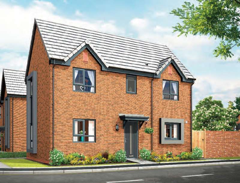 3 Bedrooms Detached House for sale in Lance Corporal Andrew Breeze Way, Denton, Greater Manchester, M34