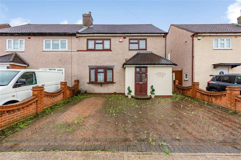 3 Bedrooms Semi Detached House for sale in Ennerdale Avenue, Hornchurch, RM12