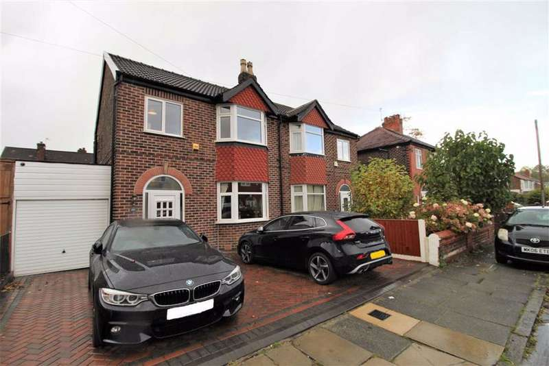3 Bedrooms Semi Detached House for sale in Hilbre Road, Manchester