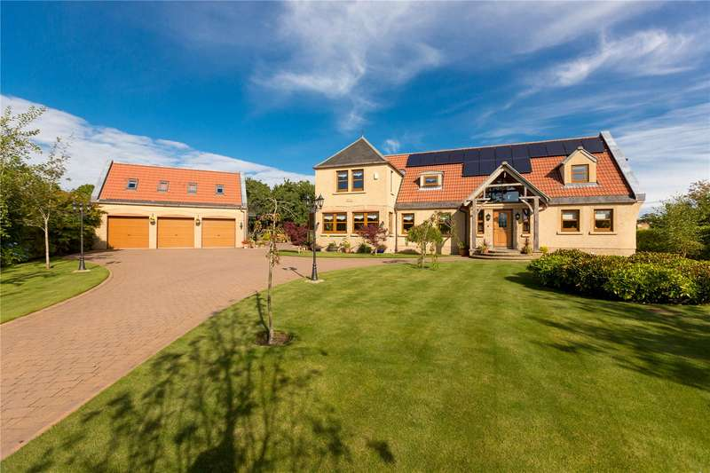 5 Bedrooms Detached House for sale in Tamley House, 1 Bramble Lane, Foodieash, Cupar, Fife, KY15