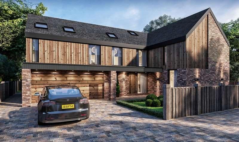 5 Bedrooms Detached House for sale in The Sanctuary, St Francis Mews, Hambleton, Poulton le Fylde, Lancashire, FY6