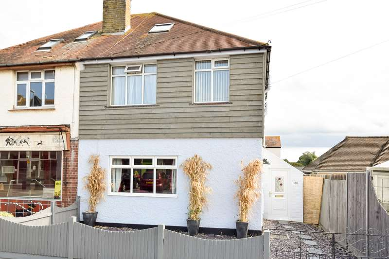 3 Bedrooms Semi Detached House for sale in Reculver Road, Herne Bay