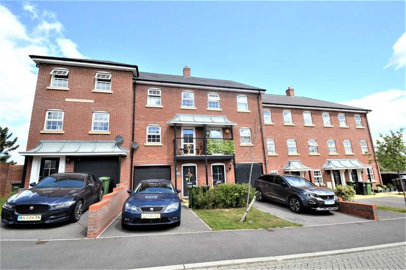 4 Bedrooms Terraced House for sale in Eastleigh