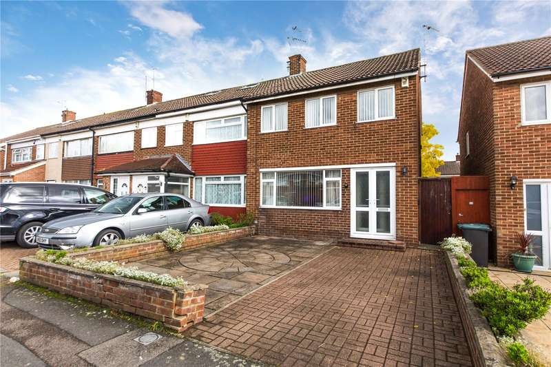 3 Bedrooms End Of Terrace House for sale in Ranelagh Gardens, Northfleet, Kent, DA11
