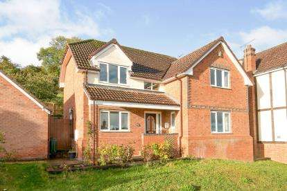 4 Bedrooms Detached House for sale in Coed Y Fron, Holywell, Flintshire, North Wales, CH8
