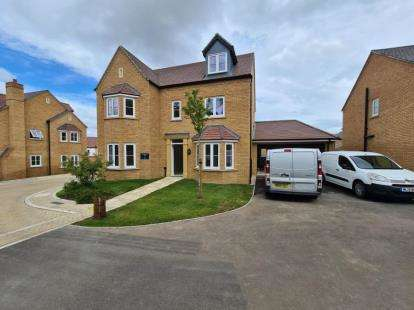 5 Bedrooms Detached House for sale in The Oaks, Hayton Way, Milton Keynes