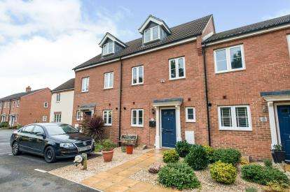 4 Bedrooms Terraced House for sale in Tatenhill Close Kingsway, Gloucestershire