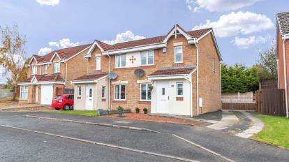 3 Bedrooms Semi Detached House for sale in Taylor Avenue, Motherwell
