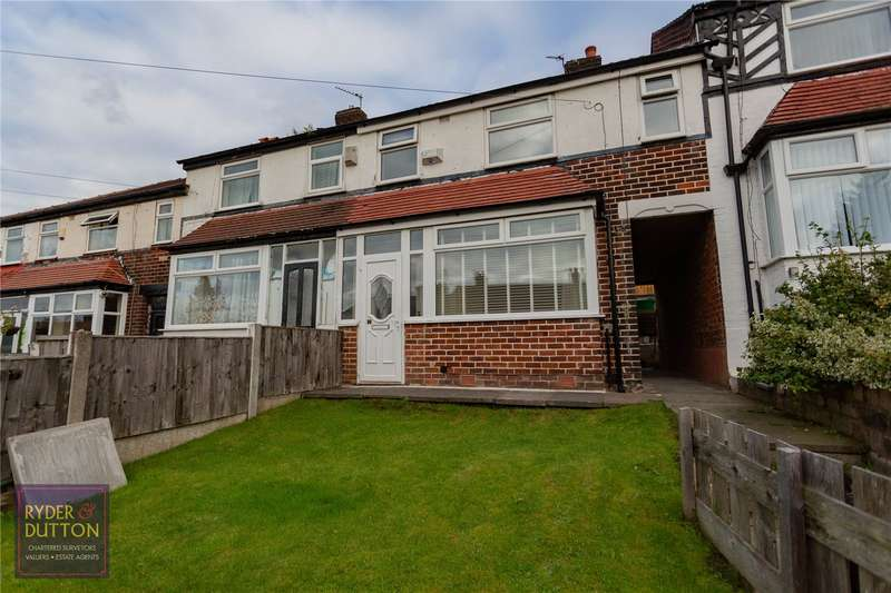 3 Bedrooms Terraced House for sale in Buerton Avenue, Blackley, Manchester, M9