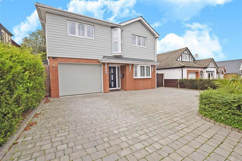 4 Bedrooms Detached House for sale in Edwin Road, Rainham