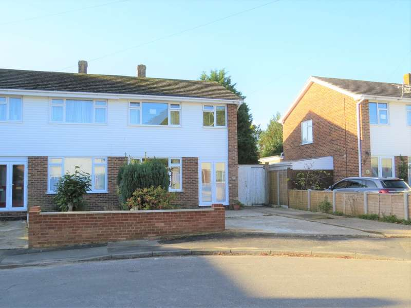 3 Bedrooms Semi Detached House for sale in Rosewood Gardens