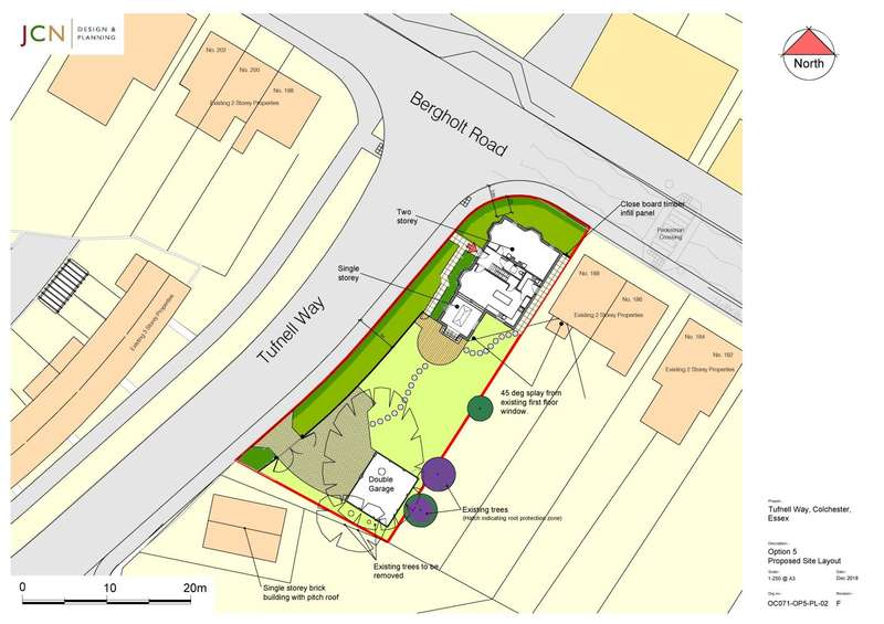 Plot Commercial for sale in Bergholt Road/Tufnell Way, Close to Station, Colchester