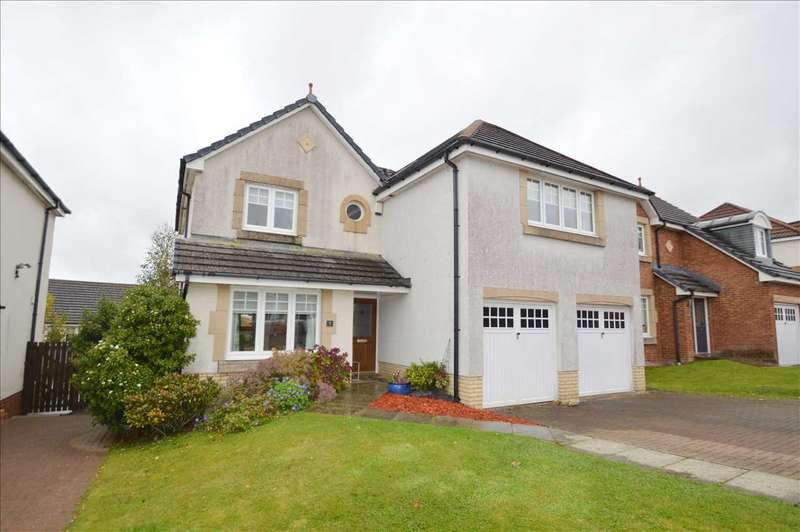 5 Bedrooms Detached House for sale in Strachan Place, West Craigs, Blantyre