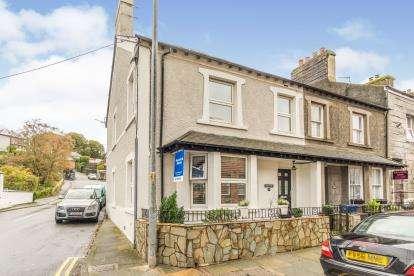 4 Bedrooms End Of Terrace House for sale in Lombard Street, Porthmadog, Gwynedd, LL49