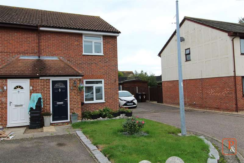2 Bedrooms End Of Terrace House for sale in Tortosa Close, Colchester CO2