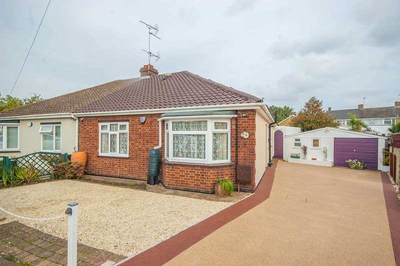 2 Bedrooms Semi Detached Bungalow for sale in All Saints Close, Old Springfield, Chelmsford, CM1