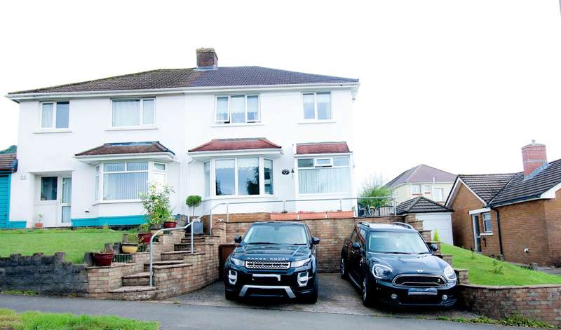 3 Bedrooms Semi Detached House for sale in Manor Road, Pontllanfraith, Blackwood