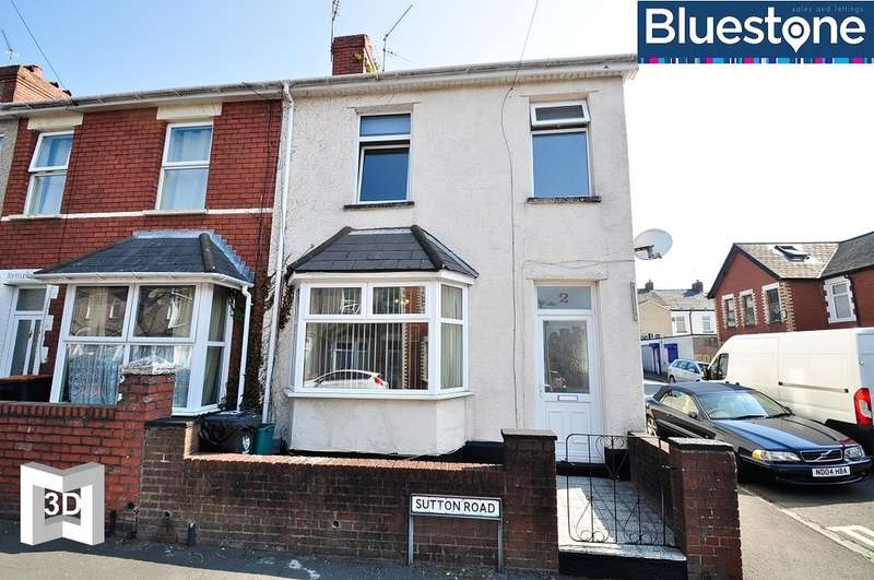 3 Bedrooms End Of Terrace House for sale in Sutton Road, Newport
