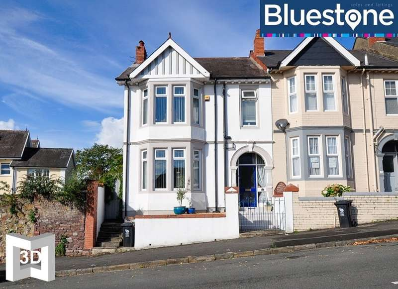 3 Bedrooms Semi Detached House for sale in Victoria Avenue, Newport
