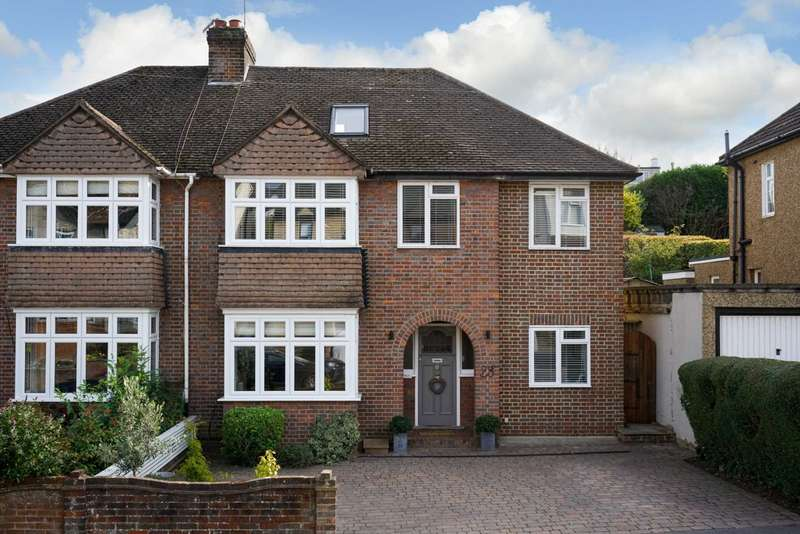 5 Bedrooms Semi Detached House for sale in West Valley Road, Hemel Hempstead