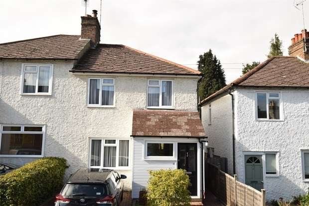 3 Bedrooms Semi Detached House for sale in 11 Golding Road, Sevenoaks, Kent