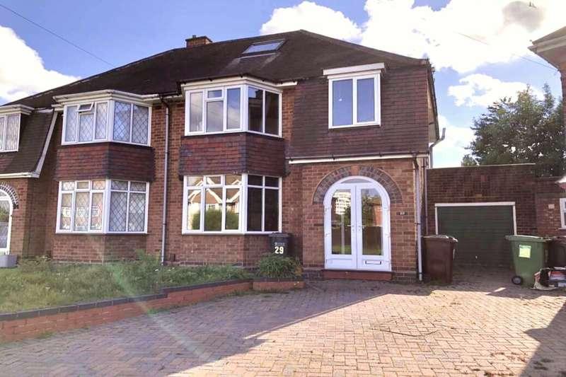 3 Bedrooms Semi Detached House for sale in Windsor Road, Castle Bromwich, Birmingham, B36