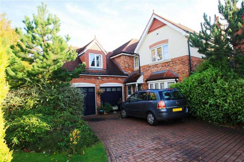 5 Bedrooms Detached House for sale in Harrow Close, Regents Park, Wilmslow