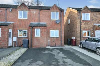 2 Bedrooms End Of Terrace House for rent in Haworth Close, Stretton, Alfreton, DE55 6HG