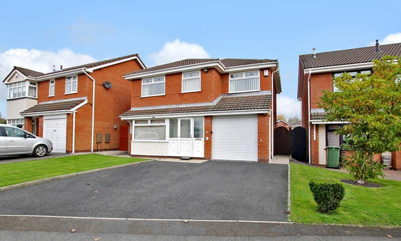 4 Bedrooms Detached House for sale in Highwoods Close, Ashton-in-Makerfield, Wigan, WN4