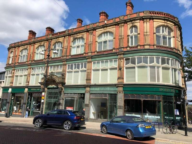 Studio Flat for sale in 21 Imperial Buildings High Street, Rotherham, South Yorkshire