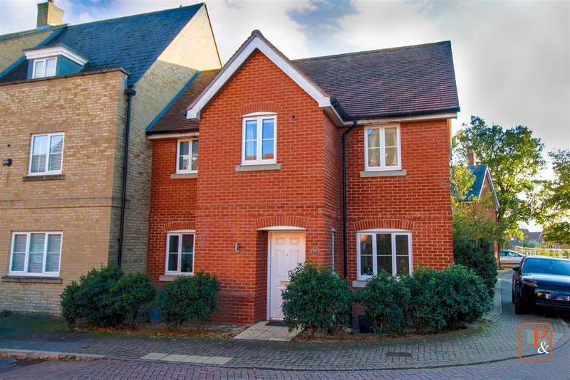 3 Bedrooms End Of Terrace House for sale in Kirk Way, Highwoods, Colchester CO4