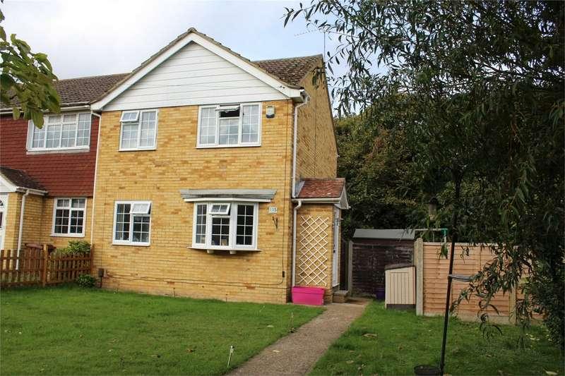 3 Bedrooms End Of Terrace House for sale in Macklands Way, Rainham, Kent