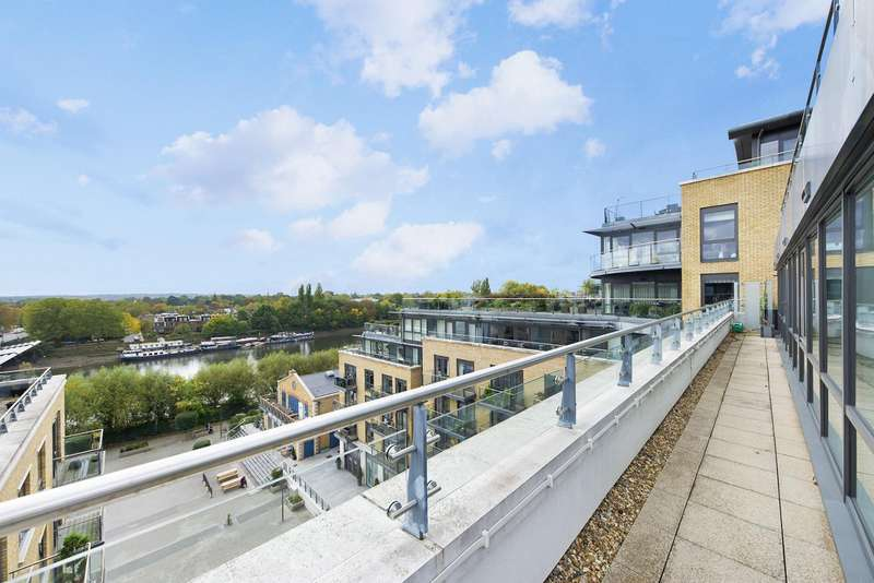 3 Bedrooms Apartment Flat for sale in Kew Bridge, Brentford, TW8