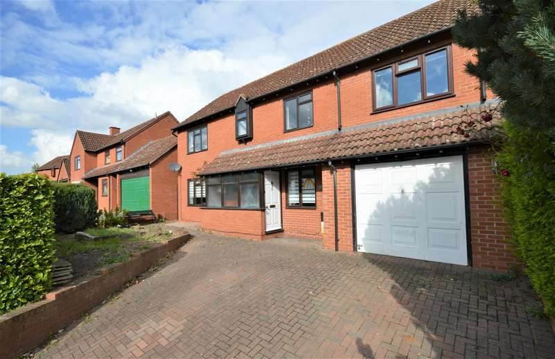 4 Bedrooms Detached House for sale in Sudbury Avenue, Hereford