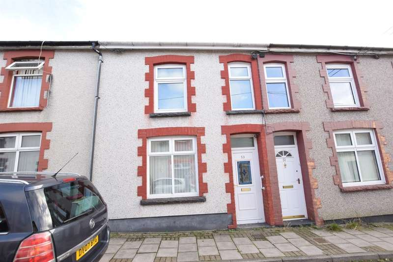 3 Bedrooms Terraced House for sale in Elm Street, Aberbargoed, Bargoed