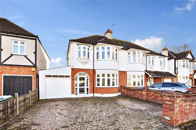 3 Bedrooms Semi Detached House for sale in The Drive, Bexley, Kent, DA5