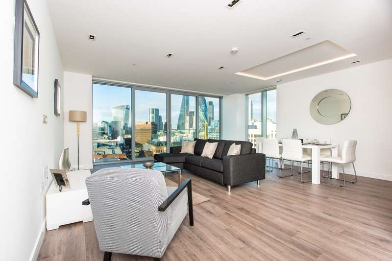 3 Bedrooms Apartment Flat for rent in Cashmere House, Goodmans Fields, Aldgate E1