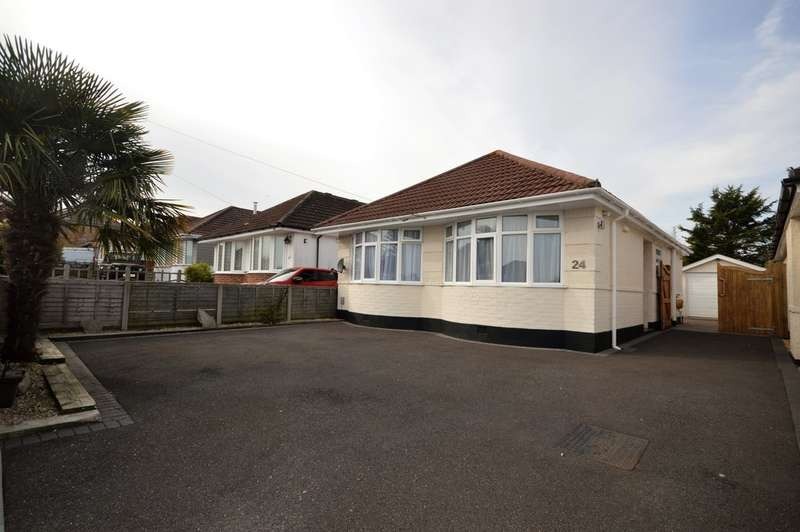 3 Bedrooms Detached Bungalow for sale in Noel Road, Bournemouth