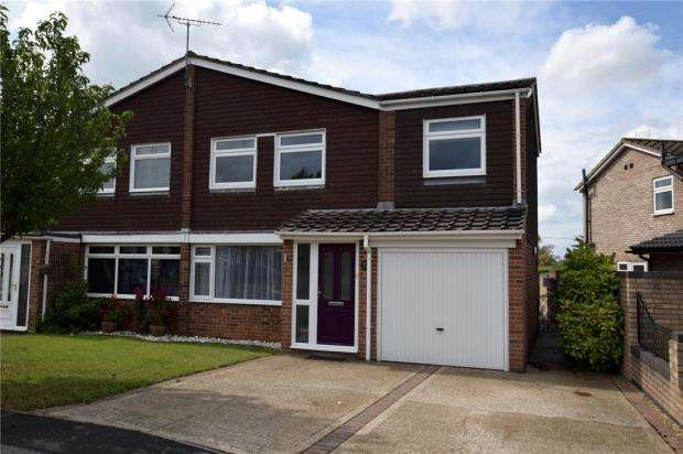 4 Bedrooms Semi Detached House for sale in Sherwood Way, Feering, Essex