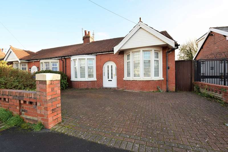 3 Bedrooms Semi Detached Bungalow for sale in Selby Avenue, Blackpool