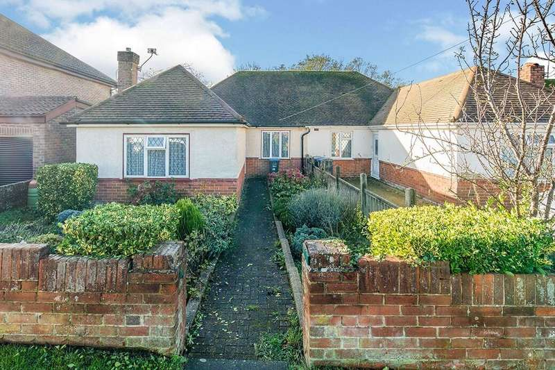 2 Bedrooms Semi Detached Bungalow for sale in Nethercourt Farm Road, Ramsgate, CT11