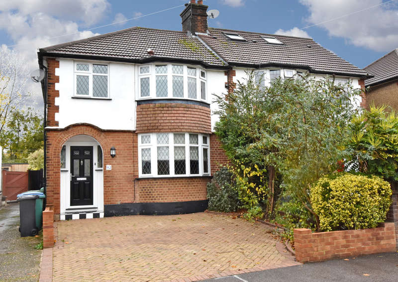 3 Bedrooms Semi Detached House for sale in Southfield Avenue, Watford