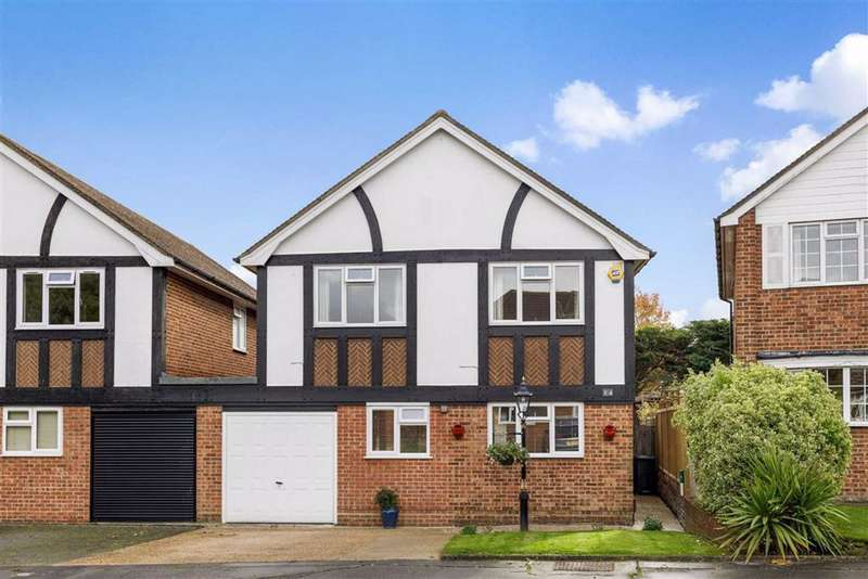 3 Bedrooms Detached House for sale in Buckingham Close, Petts Wood, Kent