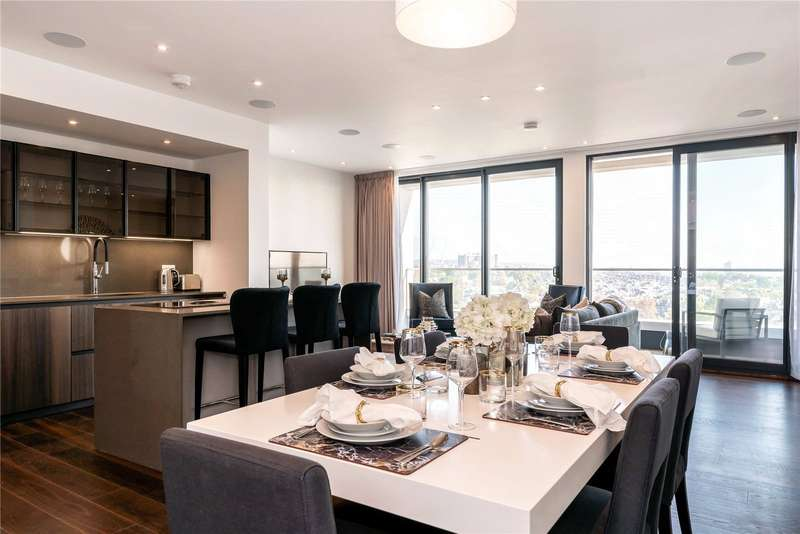 3 Bedrooms Penthouse Flat for sale in Centre Heights, 137 Finchley Road, London, NW3