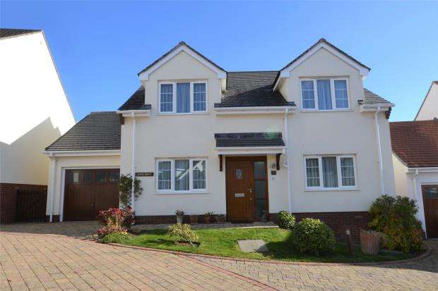3 Bedrooms Detached House for sale in Westfield Gardens, Westfield Road, Budleigh Salterton, Devon