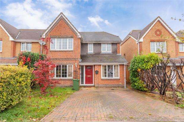 Detached House for sale in Camomile Drive, Ludgershall, Andover